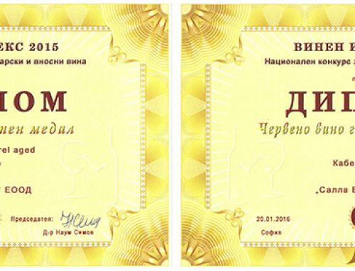 ДВЕ ЗОЛОТЫХ МЕДАЛИ КОНКУРСА ВИННЫЙ ИНДЕКС 2015